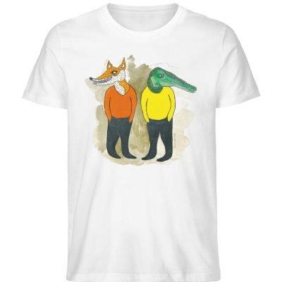 """see you later"" von Lili Aschoff - Men Premium Organic Shirt-3"