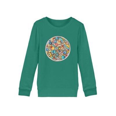 """""""Alles dreht sich"""" von Heinz Weld - Mini Changer Sweatshirt ST/ST-6972"""