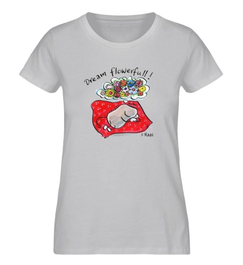 """""""Dream flowerfull!"""" von Steffen Haas - Ladies Premium Organic Shirt-17"""