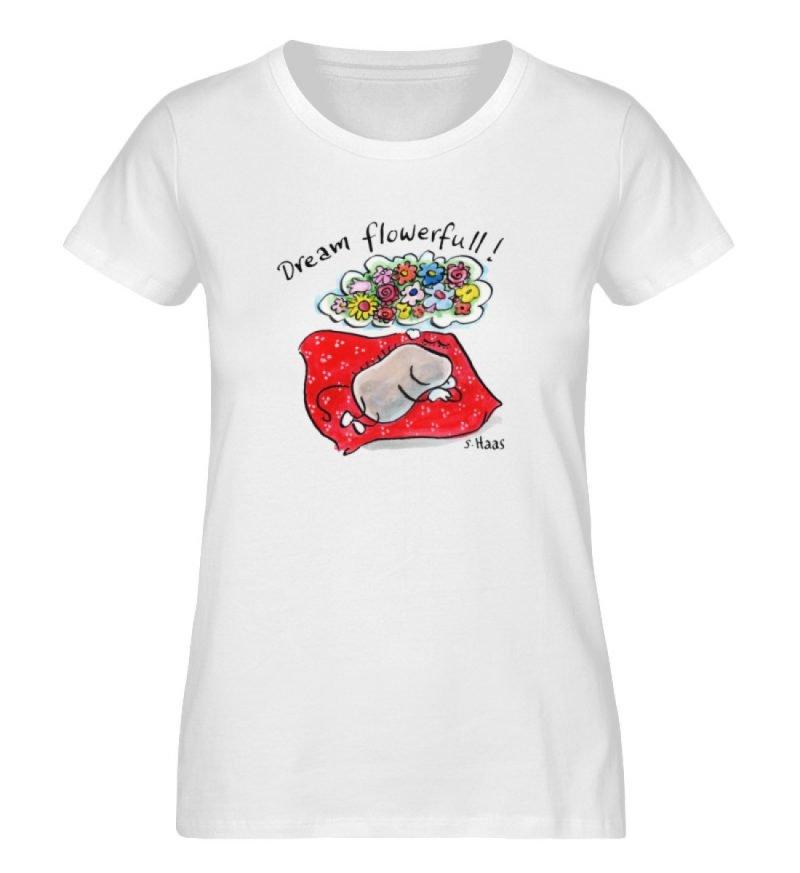 """""""Dream flowerfull!"""" von Steffen Haas - Ladies Premium Organic Shirt-3"""