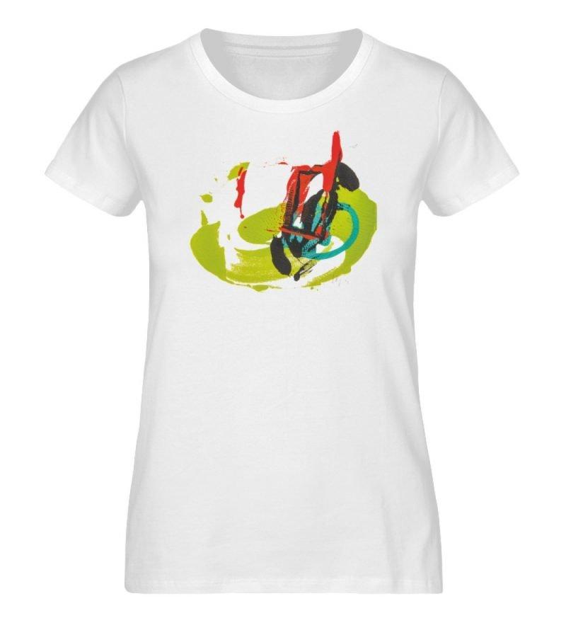 """""""Die Zukunft wird knapp"""" - Ladies Organic Shirt-3"""