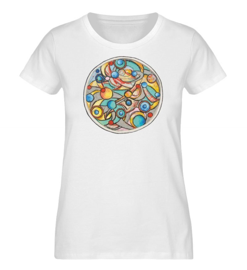 """""""Alles dreht sich"""" von Heinz Weld - Ladies Organic Shirt-3"""