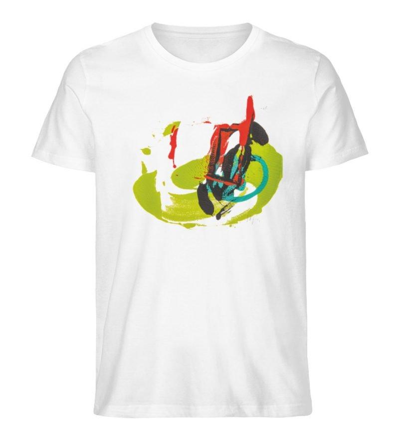 """""""Die Zukunft wird knapp!"""" - Men Premium Organic Shirt-3"""