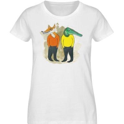"""see you later"" von Lili Aschoff - Ladies Premium Organic Shirt-3"