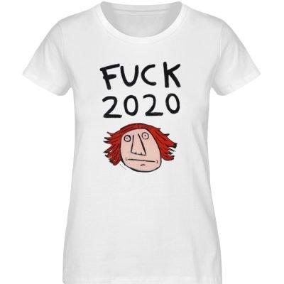"""""""Fuck 2020"""" von Irene Fastner - Ladies Premium Organic Shirt-3"""