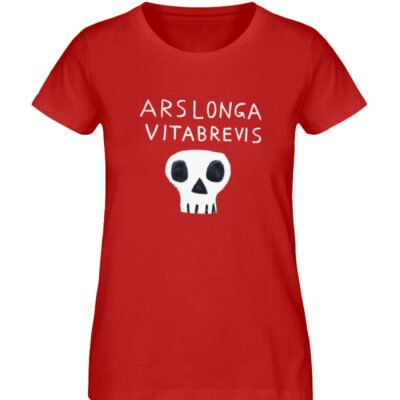 """Ars Longa Vita Brevis"" von Irene Fastne - Ladies Premium Organic Shirt-4"