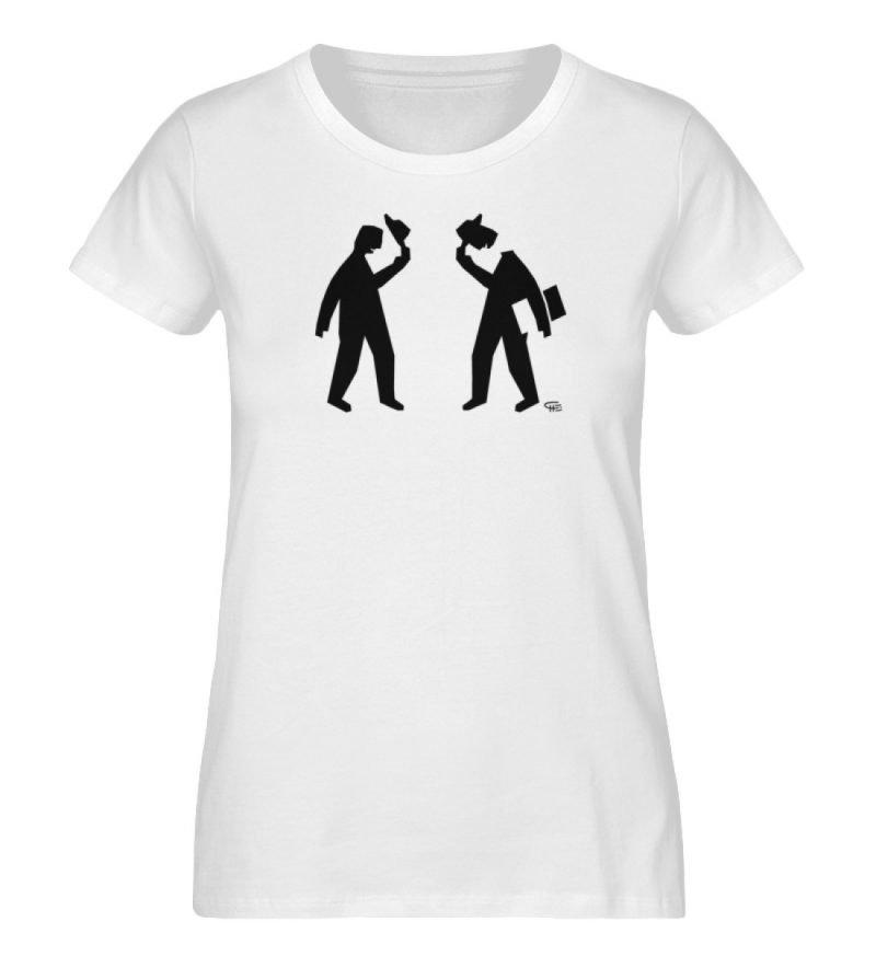"""Kopf ab"" von Christoph Everding - Ladies Organic Shirt-3"