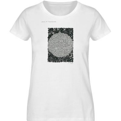 """Circles in togetherness"" von C . Wurz - Ladies Organic Shirt-3"