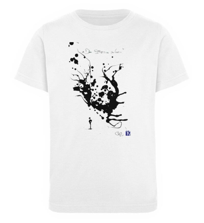 """""""Die Sterne sehen"""" von Otto Kotzebue - Kinder Organic T-Shirt-3"""