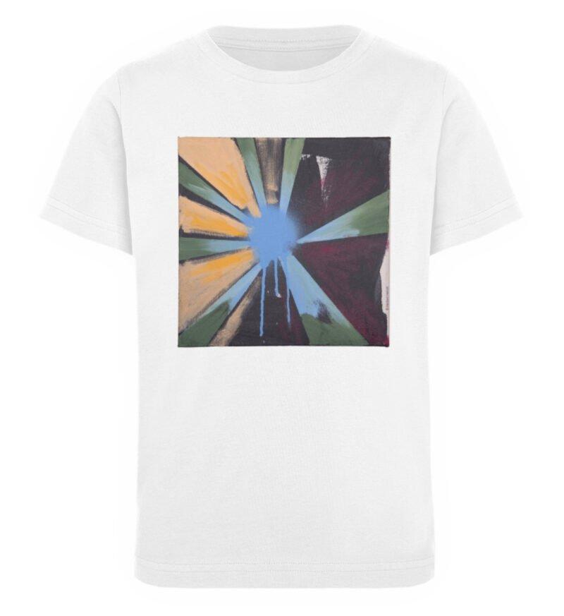 """Sternblau"" von Heribert Heindl - Kinder Organic T-Shirt-3"