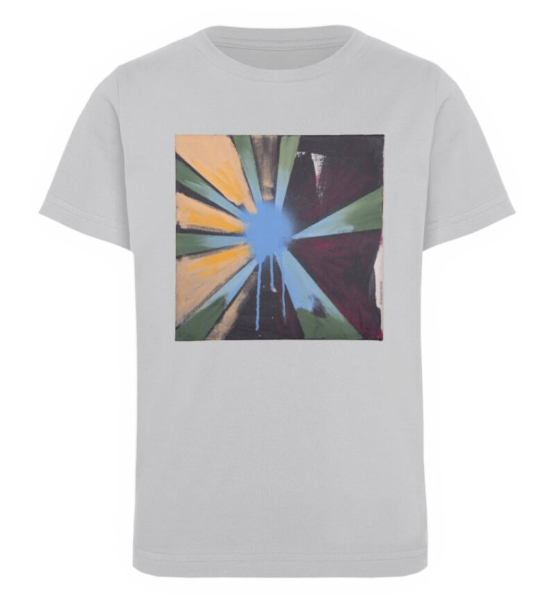 """Sternblau"" von Heribert Heindl - Kinder Organic T-Shirt-17"