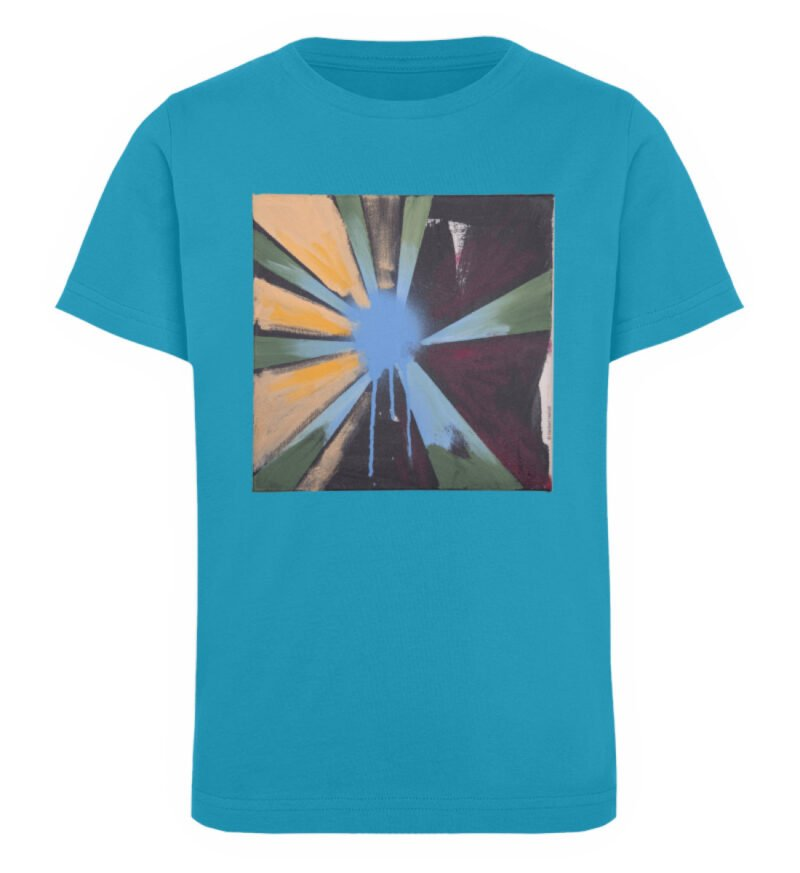 """Sternblau"" von Heribert Heindl - Kinder Organic T-Shirt-6877"