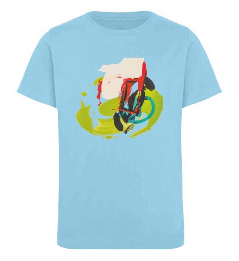 """""""Die Zukunft wird knapp"""" von Sara - Kinder Organic T-Shirt-674"""