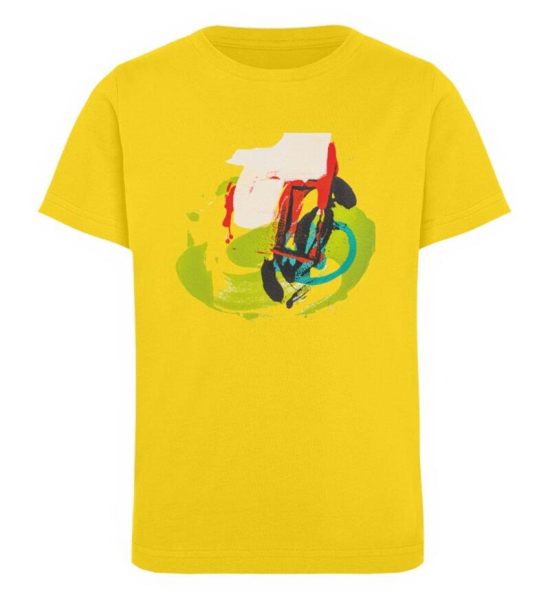 """""""Die Zukunft wird knapp"""" von Sara - Kinder Organic T-Shirt-6885"""