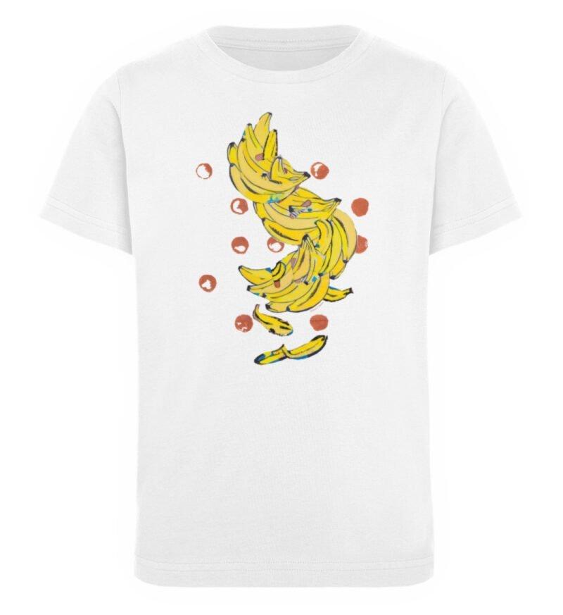 """""""Bananas"""" von Alrun Prünster Soares - Kinder Organic T-Shirt-3"""