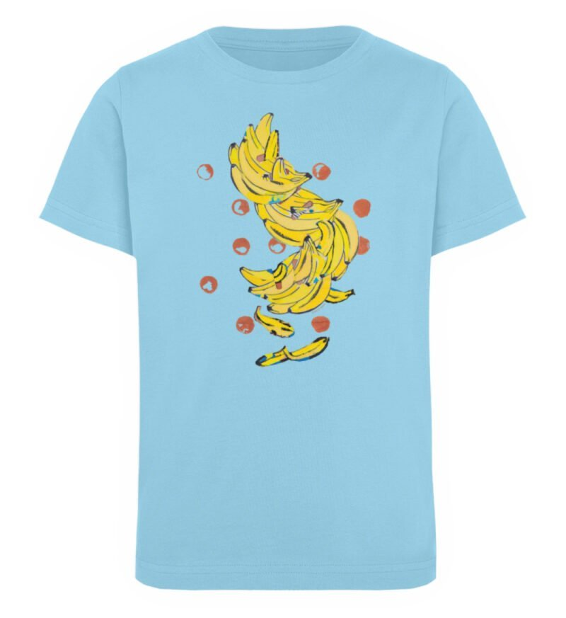 """""""Bananas"""" von Alrun Prünster Soares - Kinder Organic T-Shirt-674"""