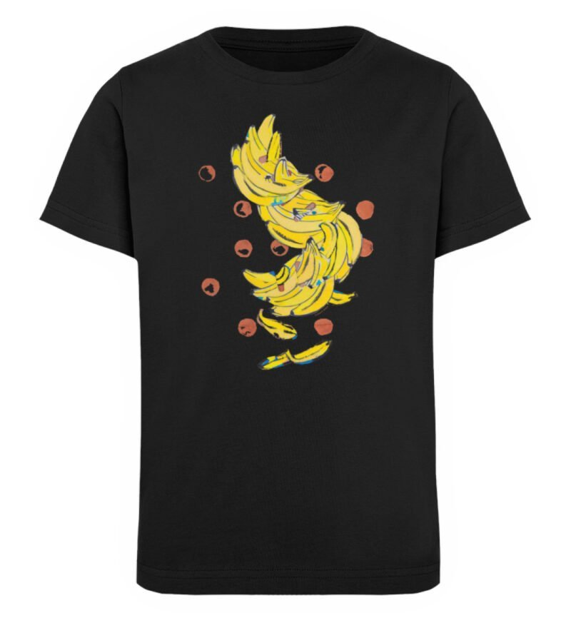 """""""Bananas"""" von Alrun Prünster Soares - Kinder Organic T-Shirt-16"""
