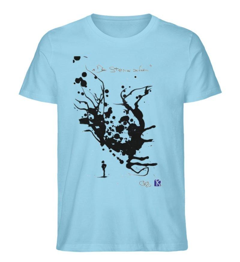 """""""Die Sterne sehen"""" - Men Premium Organic Shirt-674"""