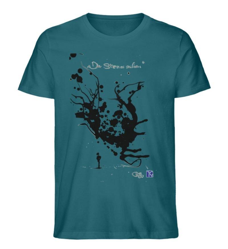 """""""Die Sterne sehen"""" - Men Premium Organic Shirt-6878"""