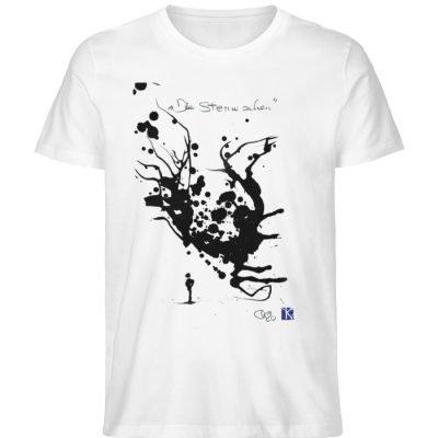 """""""Die Sterne sehen"""" - Men Premium Organic Shirt-3"""