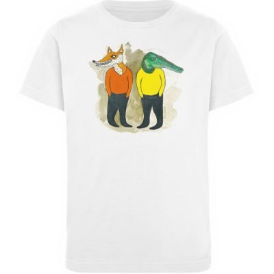 """see you later"" von Lili Aschoff - Kinder Organic T-Shirt-3"
