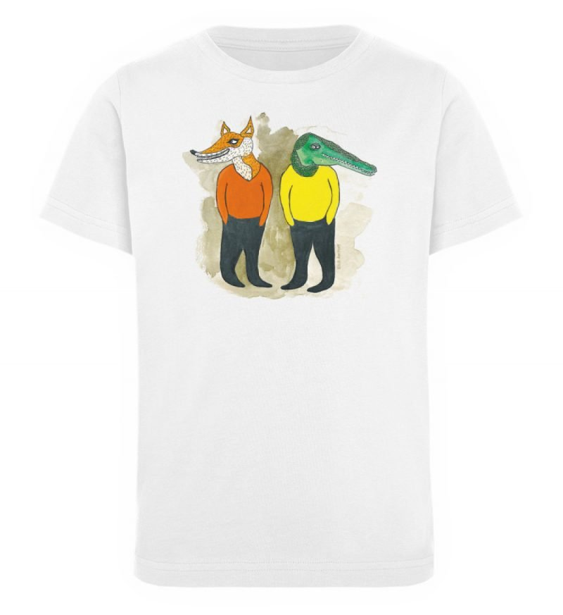 """""""see you later"""" von Lili Aschoff - Kinder Organic T-Shirt-3"""