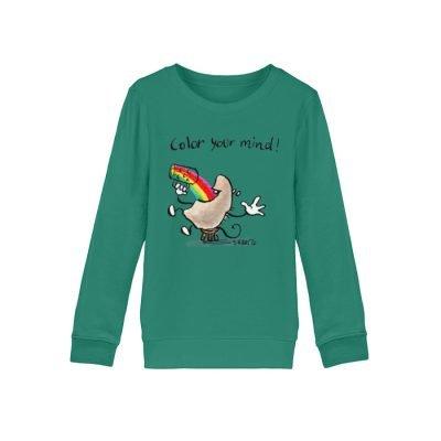 """""""Color your mind!"""" von Steffen Haas - Mini Changer Sweatshirt ST/ST-6972"""