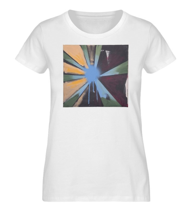 """Sternblau"" Heribert Heindl - Ladies Organic Shirt-3"