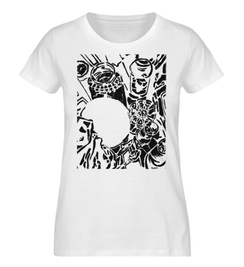 """""""Meals I didn-t attend"""" SIlvia Gardini - Ladies Organic Shirt-3"""
