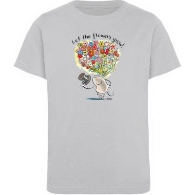 """""""Let the flowers grow!"""" von Steffen Haas - Kinder Organic T-Shirt-17"""