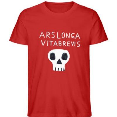 """Ars longa vita brevis"" von Irene Fastne - Men Premium Organic Shirt-4"