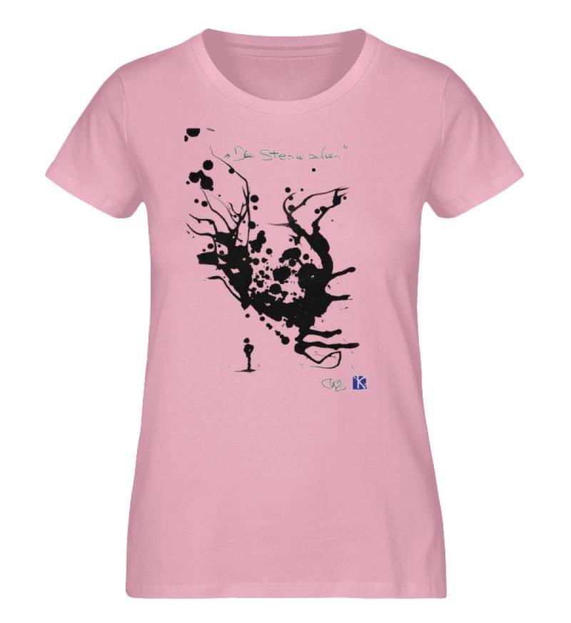 """""""Die Sterne sehen"""" - Ladies Premium Organic Shirt-6883"""