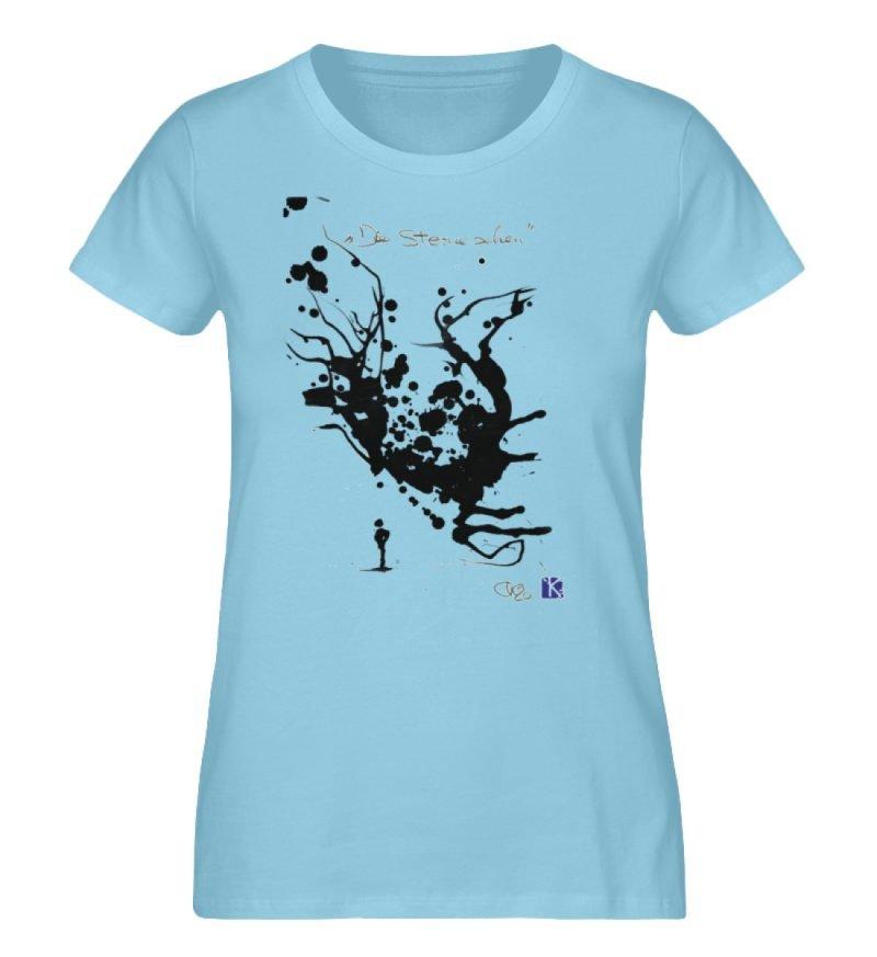 """""""Die Sterne sehen"""" - Ladies Premium Organic Shirt-674"""