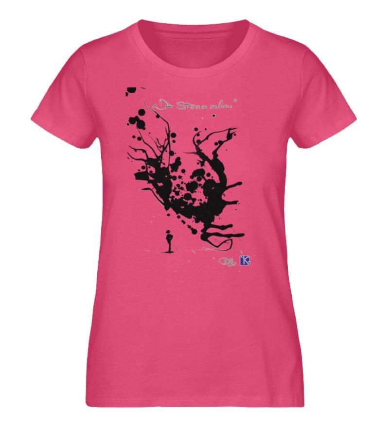 """""""Die Sterne sehen"""" - Ladies Premium Organic Shirt-6866"""