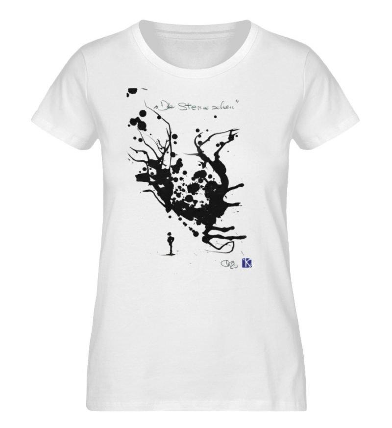 """""""Die Sterne sehen"""" - Ladies Premium Organic Shirt-3"""