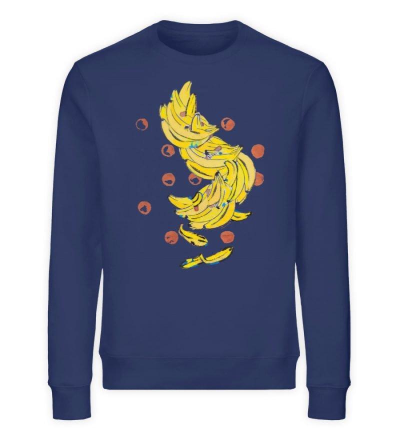 """""""Bananas"""" von Alrun Prünster Soares - Unisex Organic Sweatshirt-6057"""