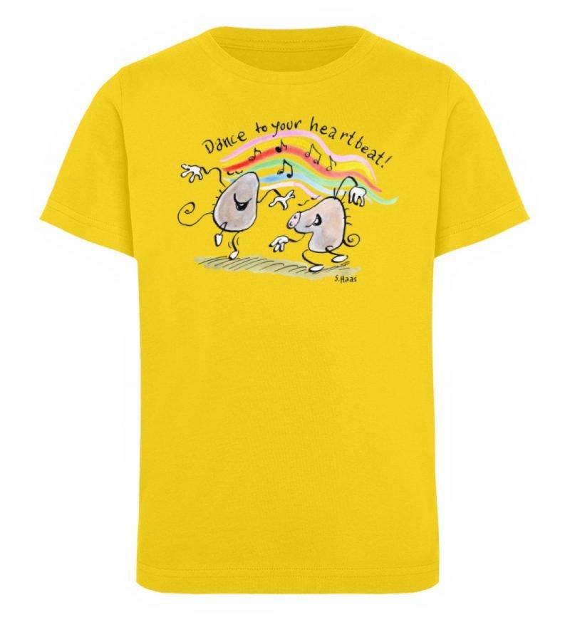 """""""Dance to your heartbeat!"""" von Steffen - Kinder Organic T-Shirt-6885"""