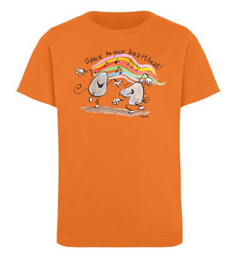 """""""Dance to your heartbeat!"""" von Steffen - Kinder Organic T-Shirt-6882"""