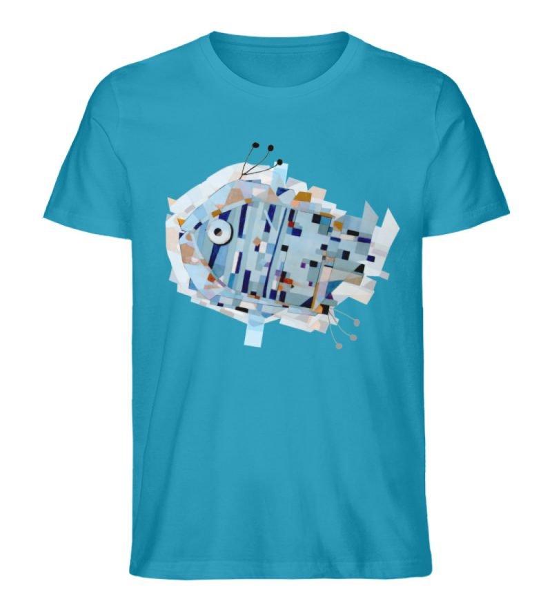 """pesce"" von Livio Cassa - Herren Premium Organic Shirt-6877"