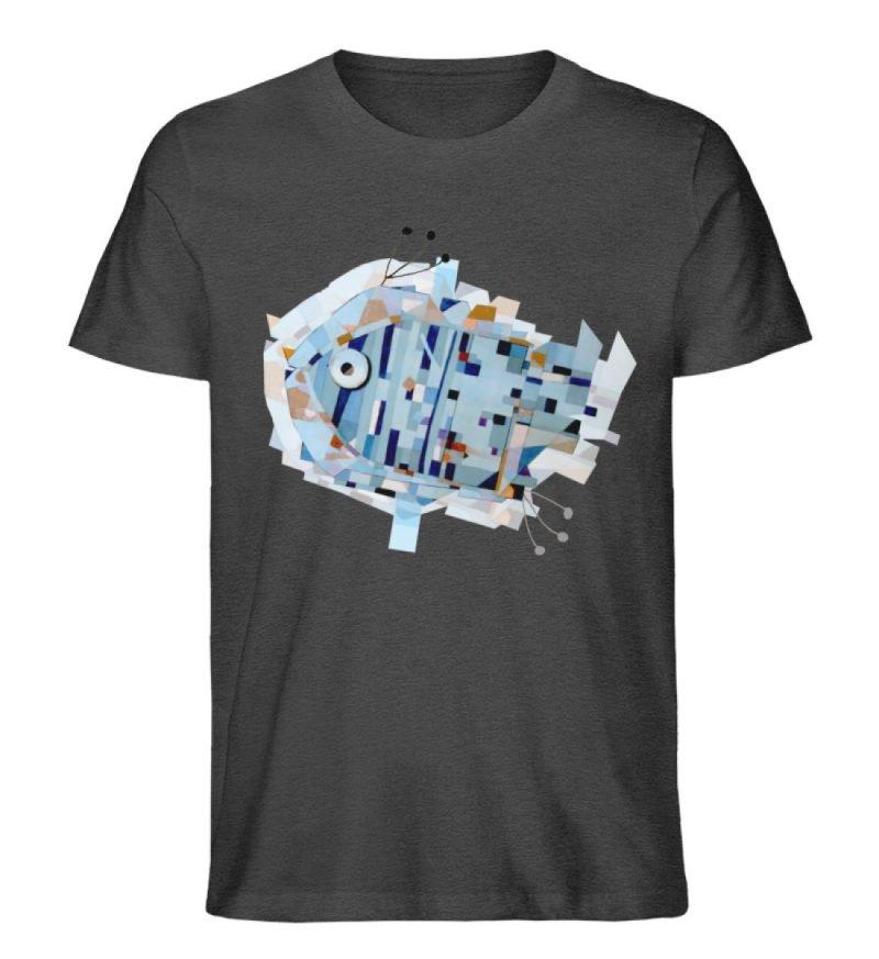 """pesce"" von Livio Cassa - Herren Premium Organic Shirt-6881"