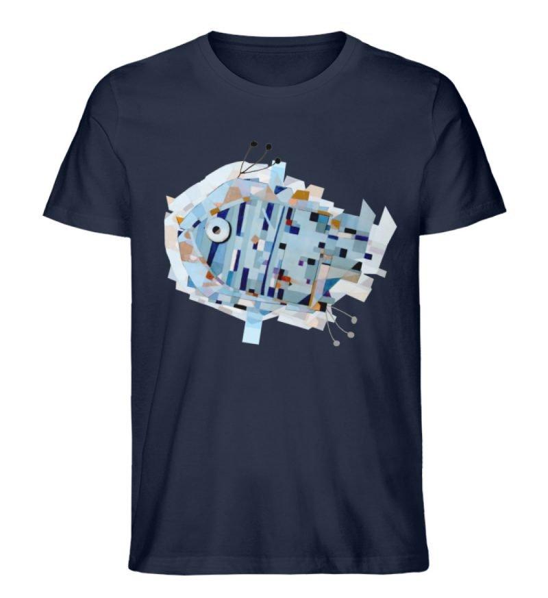 """pesce"" von Livio Cassa - Herren Premium Organic Shirt-6959"