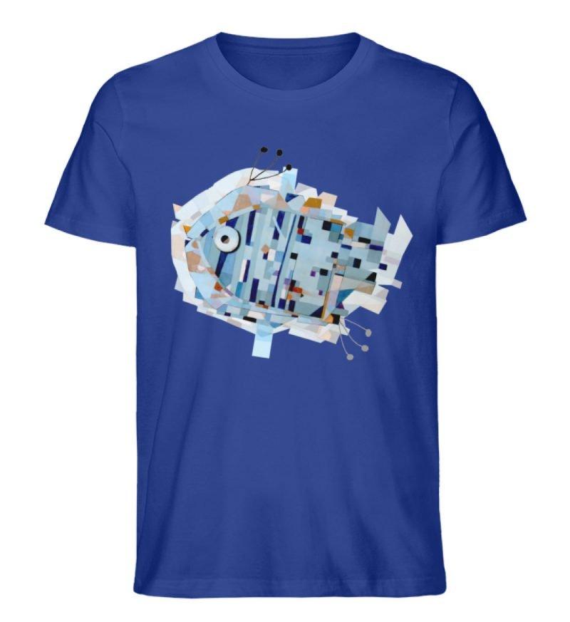 """pesce"" von Livio Cassa - Herren Premium Organic Shirt-668"