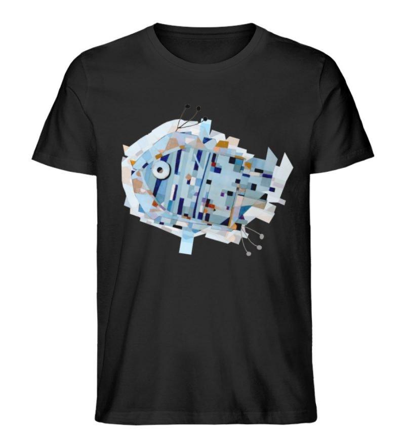 """pesce"" von Livio Cassa - Herren Premium Organic Shirt-16"