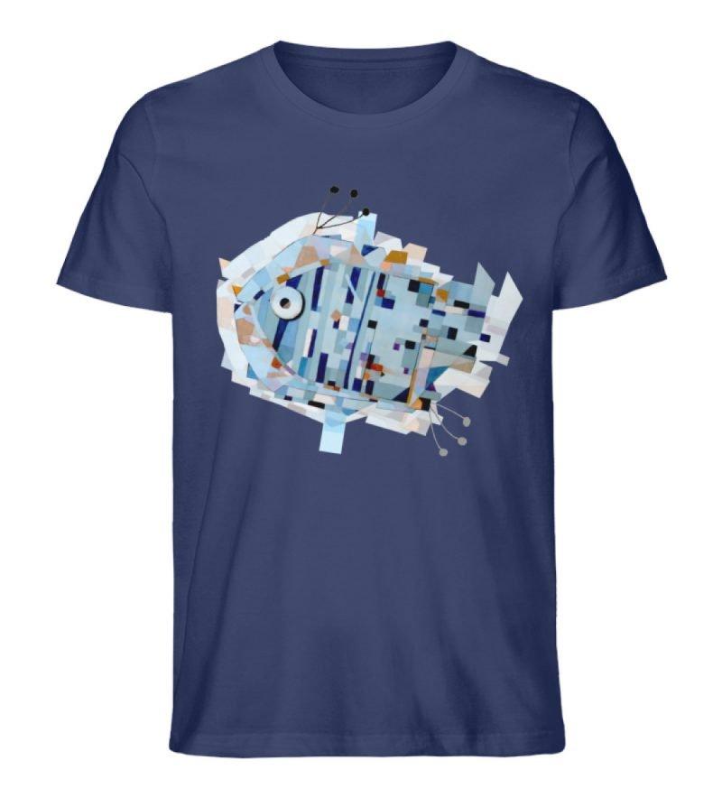 """pesce"" von Livio Cassa - Herren Premium Organic Shirt-6057"