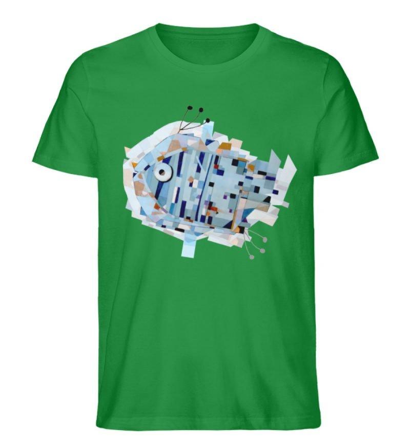 """pesce"" von Livio Cassa - Herren Premium Organic Shirt-6879"