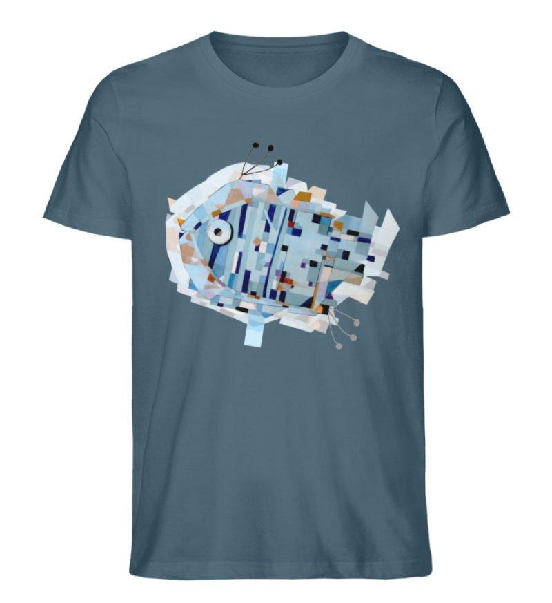 """pesce"" von Livio Cassa - Herren Premium Organic Shirt-6880"