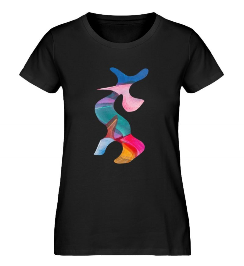 """""""Lob des Schattens 3"""" von Carolin Leyck - Damen Premium Organic Shirt-16"""