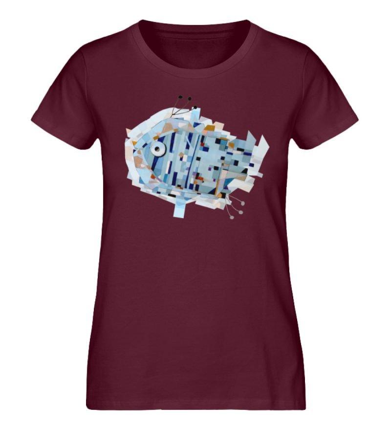 """pesce"" von Livio Cassa - Damen Premium Organic Shirt-839"