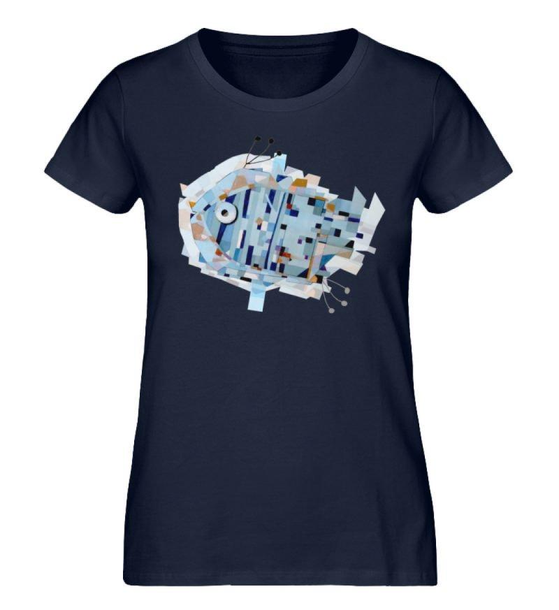 """pesce"" von Livio Cassa - Damen Premium Organic Shirt-6959"