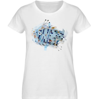 """pesce"" von Livio Cassa - Damen Premium Organic Shirt-3"
